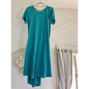 High low lularoe dress